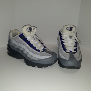 Nike Air Max 95 GS Wolf Gray Blue Sneakers
